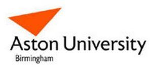 Aston University, Birmingham Logo