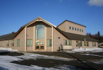 large University of Alaska Fairbank Bristol Bay Campus. The_new_building