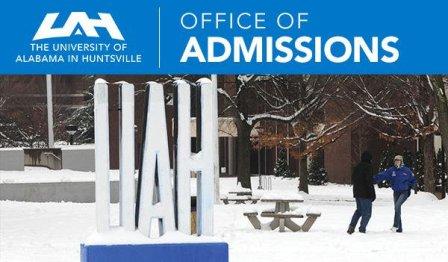 UAH Undergraduate Admission Process