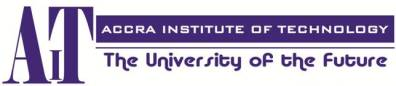 Accra Institute Of Technology (AIT) Logo