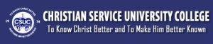 Christian-Service-University-College-CSUC-Logo